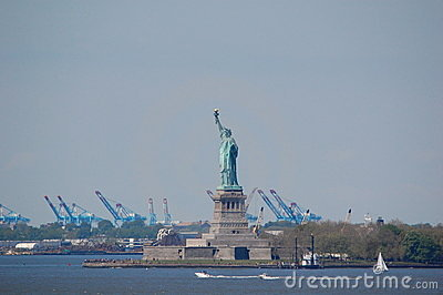 Statue of Liberty, New York City Editorial Image