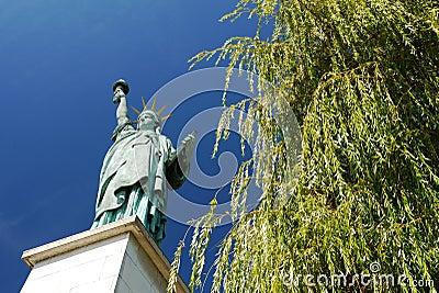 Statue of Liberty, Paris, France. Editorial Stock Photo