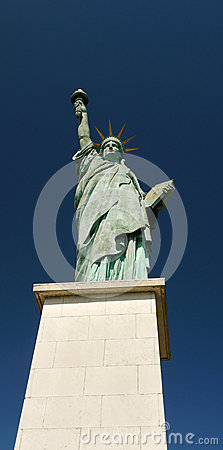 Statue of Liberty, Paris, France. Editorial Image