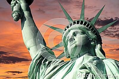 Statue of Liberty Sunrise