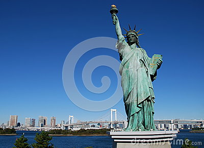 Statue of Liberty,Tokyo
