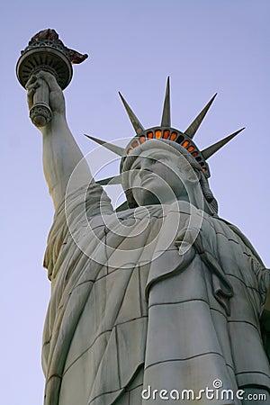 Statue of Liberty - Vegas Editorial Stock Photo