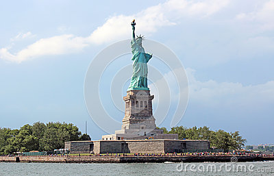 The Statue of Liberty Editorial Photo