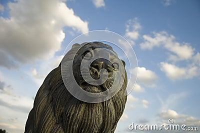 Statue of a Lion s Head