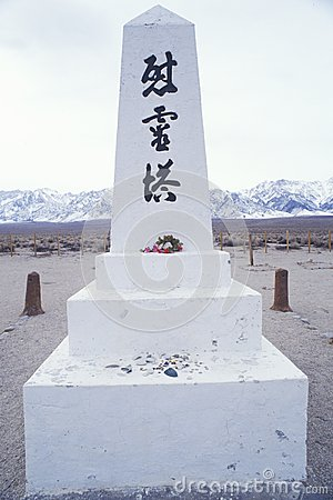 Statue at Manzanar Relocation Center