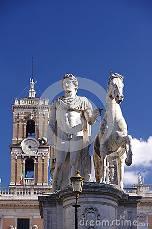 Statue of Marcus Aurelius in Rome