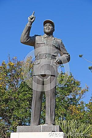 Statue of Michel Samora