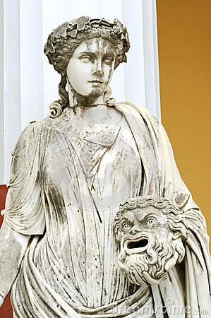 Statue of a Muse Melpomene