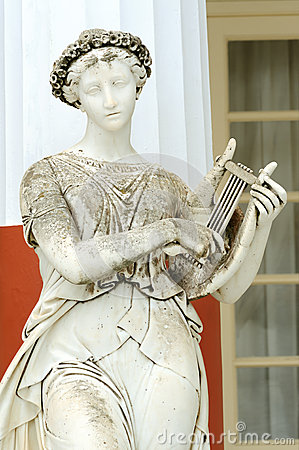 Statue of a Muse Terpsichore
