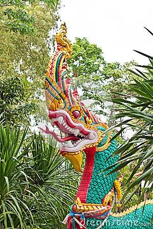 Statue of naga