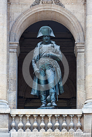 Free Statue Napoleon Bonaparte Paris, France Stock Photography - 33053512