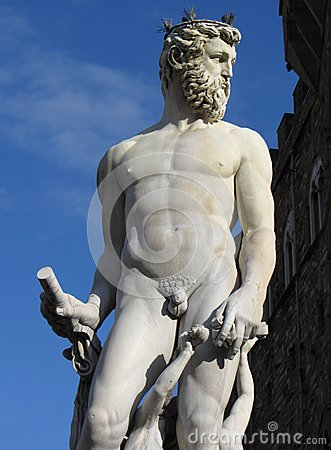 Statue of Neptune in Florence