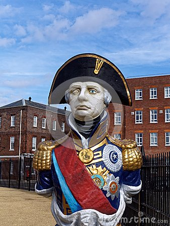 Free Statue Of Admiral Horatio Lord Nelson Royalty Free Stock Photos - 51507078