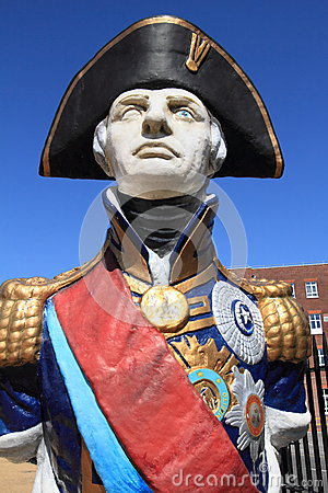 Free Statue Of Admiral Lord Nelson In Portsmouth Royalty Free Stock Images - 42441229