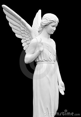 Free Statue Of An Angel Stock Photography - 17046012