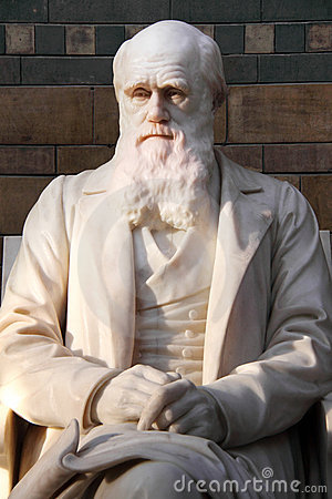 Free Statue Of Charles Darwin Stock Image - 11081971