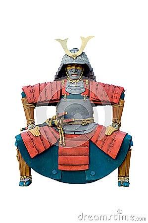 Free Statue Of Chinese Warrior. Stock Photo - 34151090