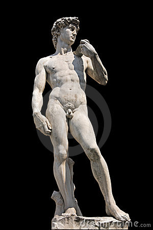 Free Statue Of David, Isolated Royalty Free Stock Images - 2215319