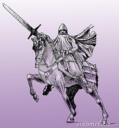 Free Statue Of El Cid Stock Image - 7536841
