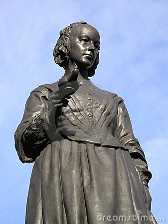 Free Statue Of Florence Nightingale Royalty Free Stock Images - 12661289