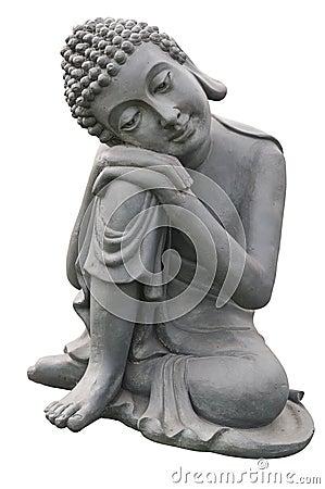Free Statue Of Gautama Buddha Royalty Free Stock Photos - 24295898