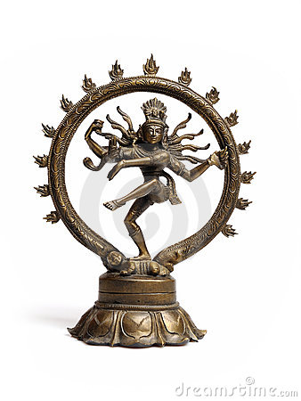 Free Statue Of Indian Hindu God Dancing Shiva Nataraja Royalty Free Stock Photos - 16489298