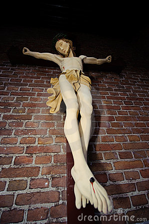 Free Statue Of Jesus On Cross Stock Photo - 11241940