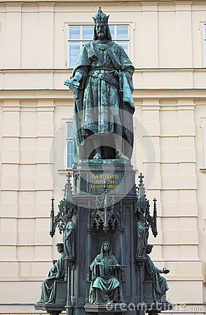 Free Statue Of King Charles IV Royalty Free Stock Images - 25714629