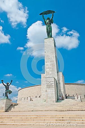 Free Statue Of Liberty In Budapest Royalty Free Stock Image - 29845406