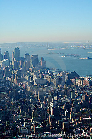 Free Statue Of Liberty In The Distance Stock Image - 75341