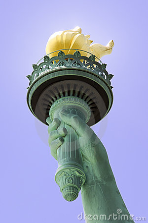Free Statue Of Liberty S Torch Royalty Free Stock Photography - 2614817