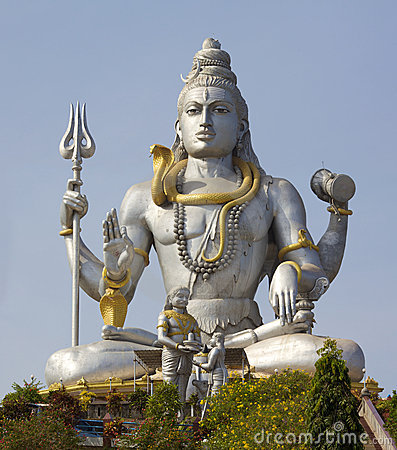 Free Statue Of Lord Shiva Stock Image - 23869761