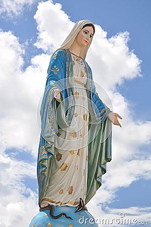 Free Statue Of Madonna Stock Photos - 15190493