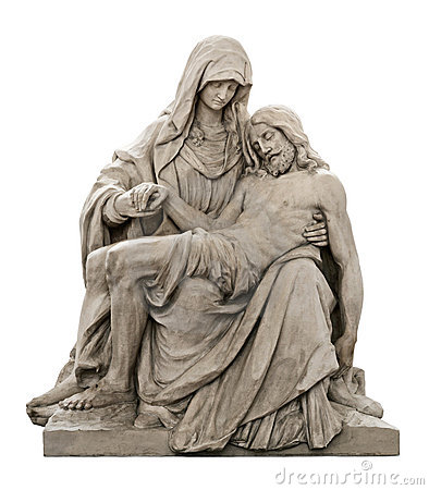 Free Statue Of Mary Mourning For Jesus Christ Royalty Free Stock Photo - 20514775