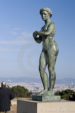 Free Statue Of Naked Woman Stock Photography - 7733812