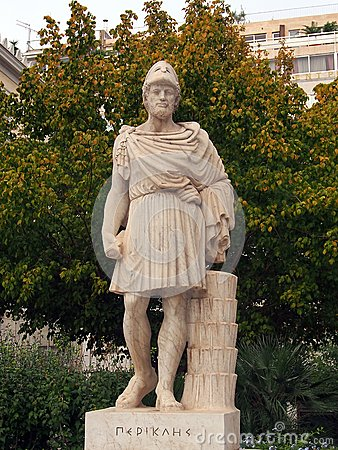 Free Statue Of Pericles, Athens Stock Photo - 46258670