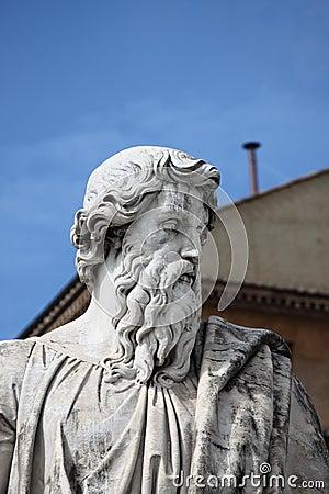 Free Statue Of Saint Paul The Apostle Stock Photo - 30635320