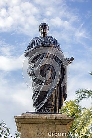 Free Statue Of Seneca In Cordoba Stock Photo - 33800430