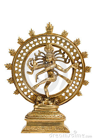 Free Statue Of Shiva Nataraja - Lord Of Dance Isolated Stock Photography - 3767802