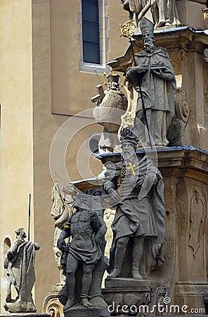 Free Statue Of The Holy Trinity, Veszprem, Hungary Stock Photos - 10113913