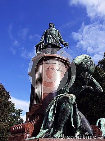Statue of the Otto von Bismark