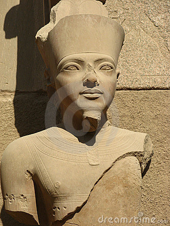 Statue of a Pharaoh