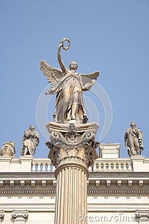 Statue in the Prague