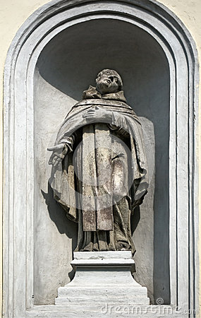 Statue of a priest
