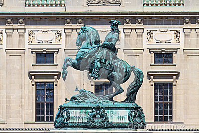 Statue of Prince Eugene of Savoy, Vienna
