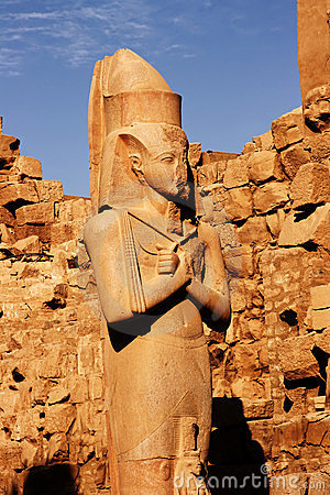 The statue of Ramses