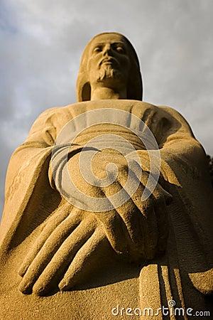 Statue of religious figure