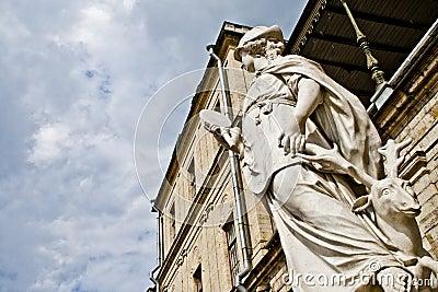 Statue-Richtung