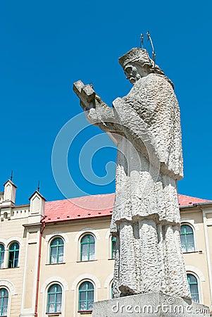 Statue of a Saint John of Nepomuk