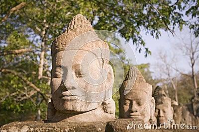 Statue in Siem Reap